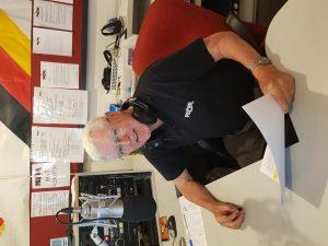 Don Kerr in the studio