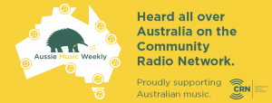 Aussie Music Weekly banner