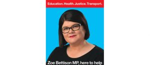 Zoe Bettinson MP