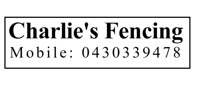 Charlies Fencing